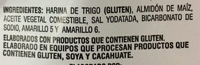 Fritura de harina de trigo - Ingredients