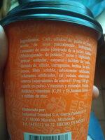 Café Costeño Mocca - Ingredientes - es