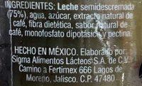 Cappuccino Clásico - Ingredientes - es