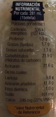 Cappuccino Clásico - Información nutricional - es
