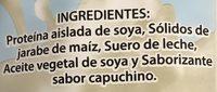 Soyalac sabor capuchino - Ingrediënten