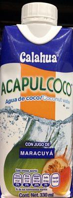 Acapulcoco con jugo de Maracuyà - Product