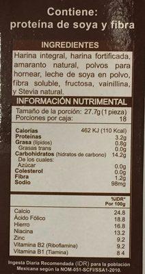 Harina para Hot cakes - Ingredientes - es
