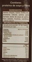 Harina para Hot cakes - Información nutricional - es
