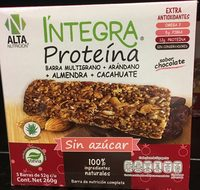 Integra proteína arándano, almendra, cacahuate. - Product - es