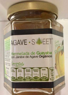 Mermelada de guayaba con jarabe de agave Agave Sweet - Producto - es