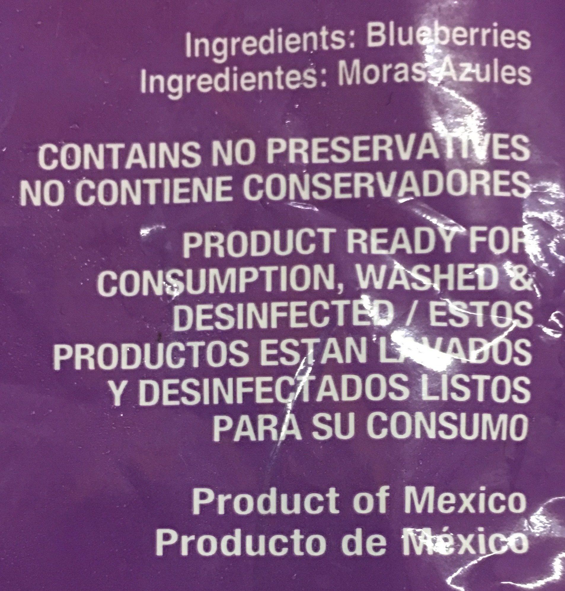 Blueberries - Ingrédients - es