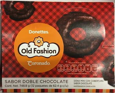 Donettes Old Fashion Sabor chocolate - Produit - es