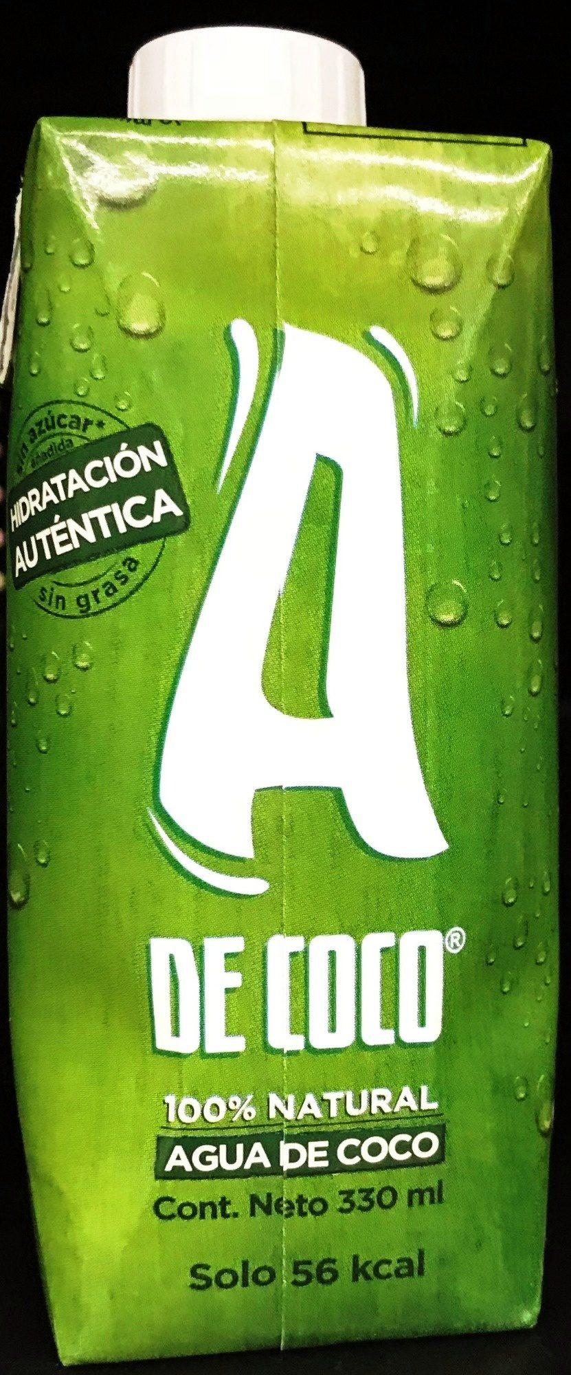 A de Coco - Producto - es