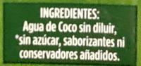 A de Coco - Ingredientes - es