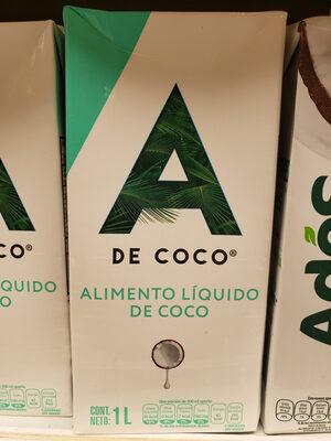 Alimento Líquido de Coco - Product