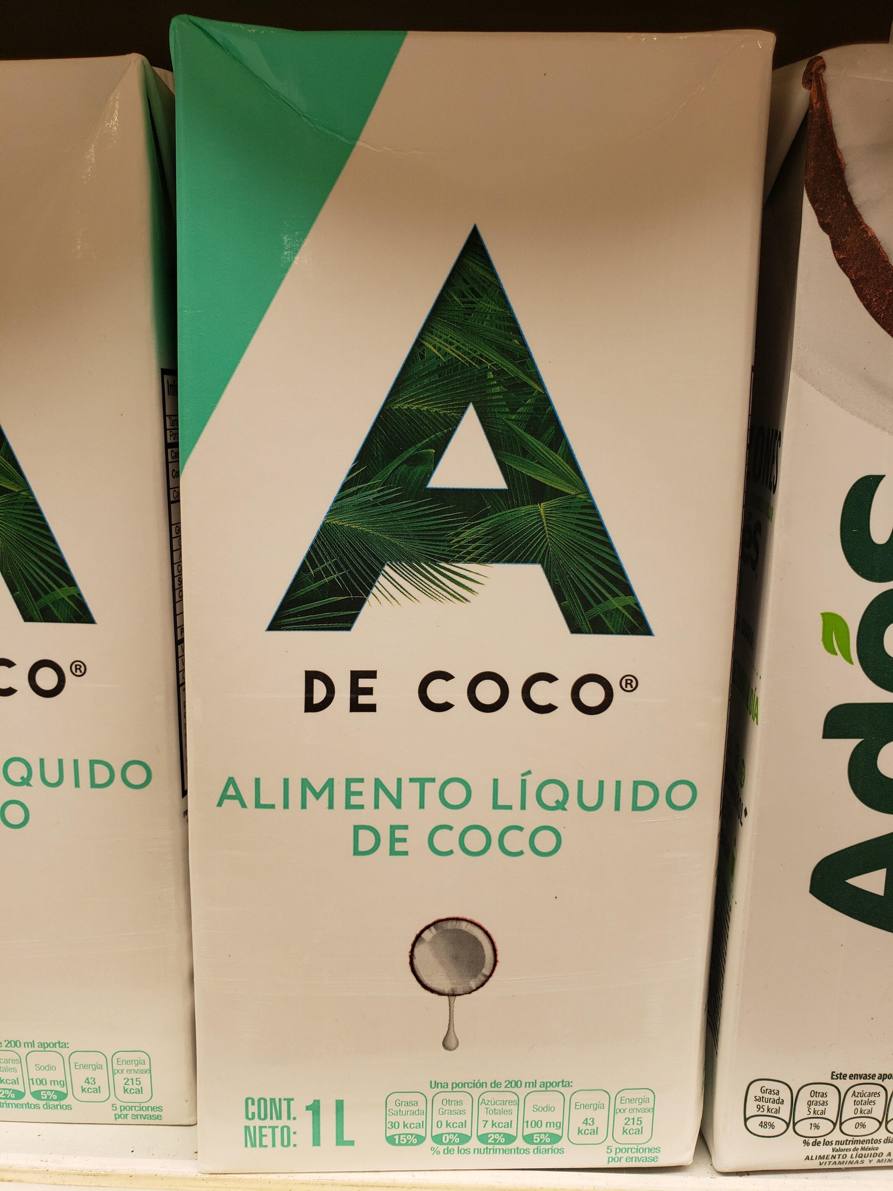 Alimento Líquido de Coco - Product - en