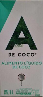 Alimento Líquido de Coco - Producto - es