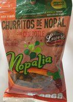Churritos hechos con nopal fresco - Producto - es