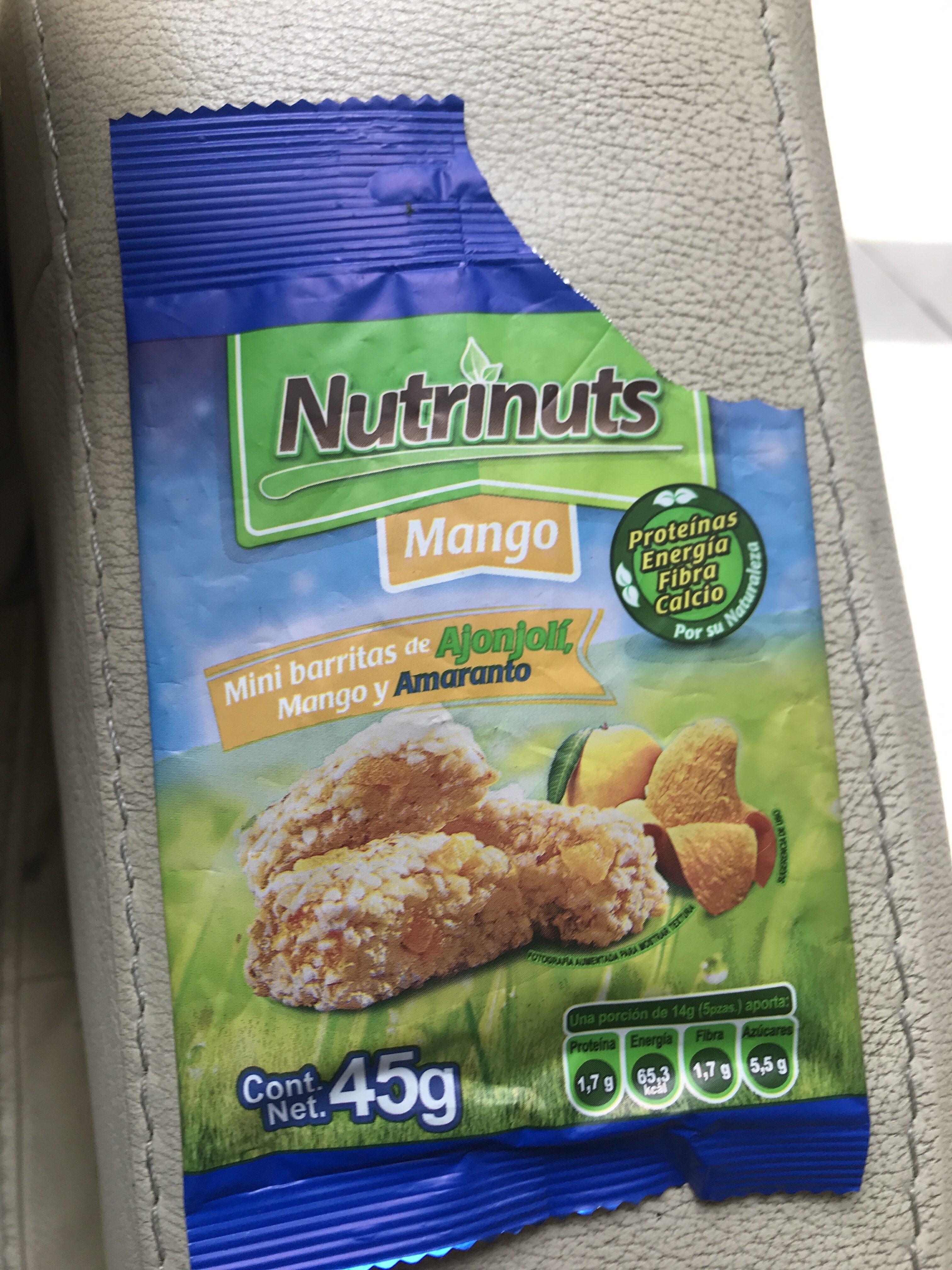 Nutrinuts mango - Producto - es