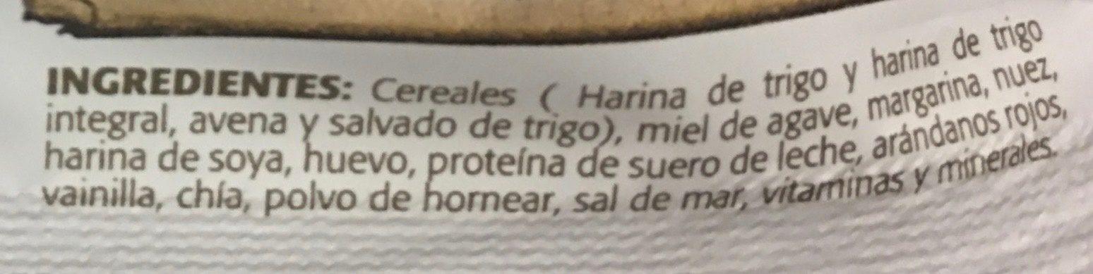 alimento ancestral - Ingrédients - es