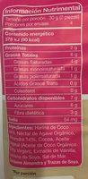 Galletas pure cocoa Trusnack - Información nutricional - es