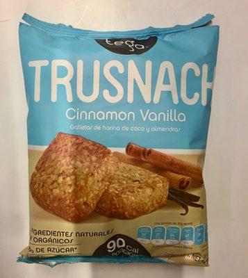 Galletas cinnamon vanilla Trusnack - Producto - es