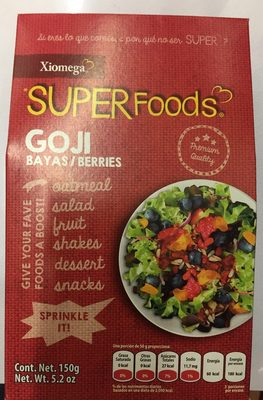 Super foods Goji Berries - Product