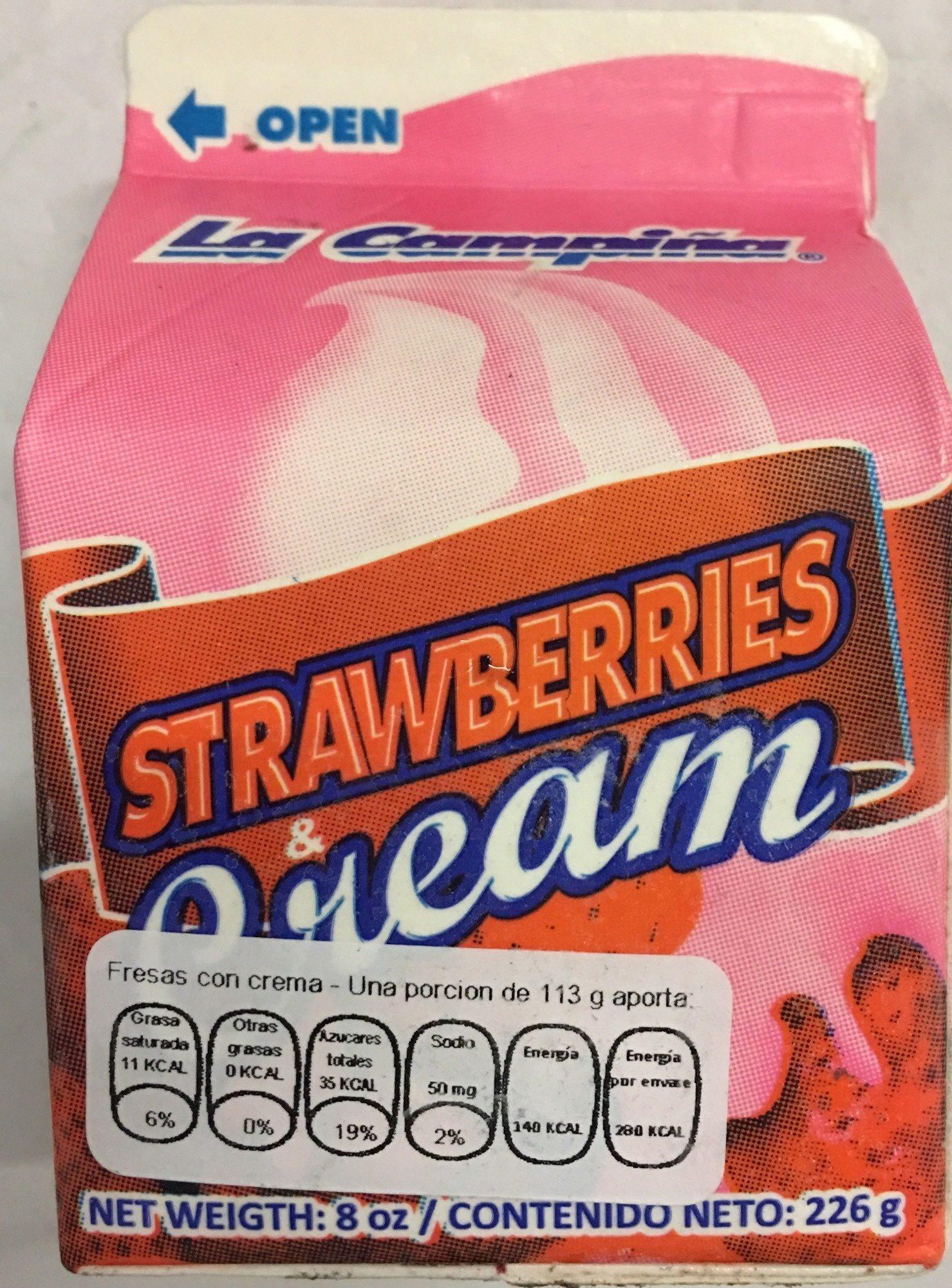 Strawberries & Cream - Produit - es