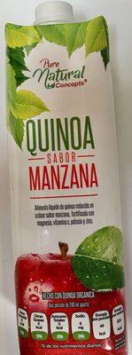 Pure natural concepts, Quinoa sabor Manzana - Produit - es