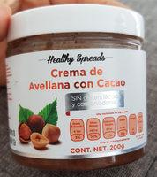 Crema de avellana con cacao - Produit - es