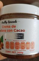 Crema de avellana con cacao - Informations nutritionnelles - es