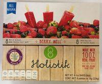 Mini paletas de frutos rojos Holistik - Produit - es