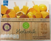 Mini paletas de mango maracuya Holistik - Producto - es
