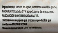 Barra Nutri Well - Ingredients