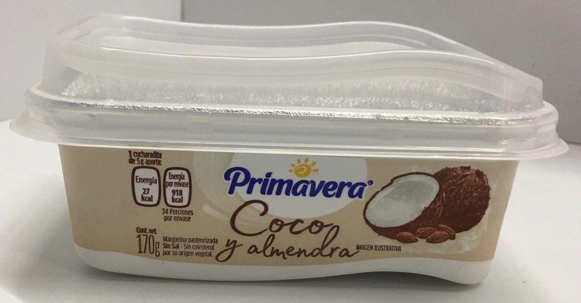 Margarina Coco & Almendra Sin Sal Primavera - Product