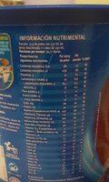 Choco Milk - Nutrition facts - es