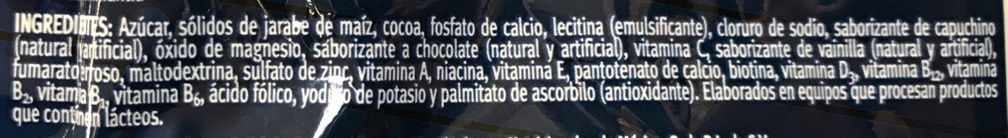 Chocolate en polvo - Ingrédients - es