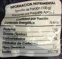 Mariscada, Premium sea food, bonisimo del mar, - Nutrition facts - es
