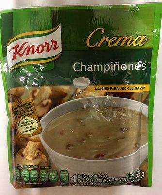 Crema champiñones - Product