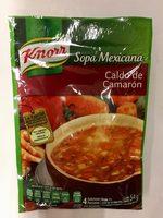Sopa Méxicana Caldo de Camarón - Product - es