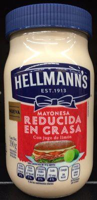 Myonesa reducida en grasa Hellmann's - Produit - es