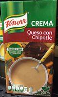 CREMA QUESO CON CHIPOTLE - Producto - es