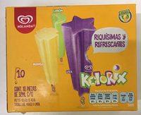 Paleta de agua Kolorix sabor Uva, mango o limon Holanda - Product