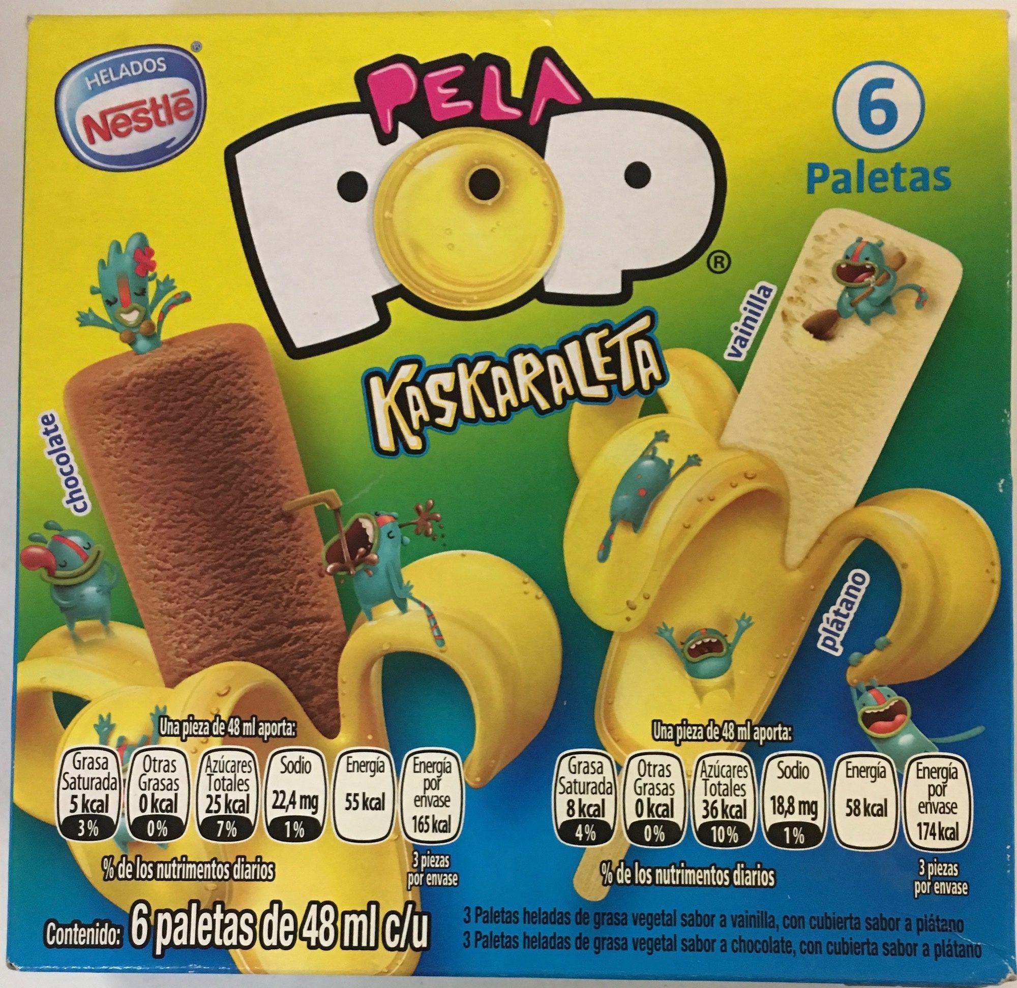 Pela Pop Kaskaraleta vainilla - Product - es