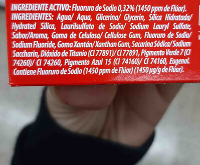 colgate - Ingredients - en