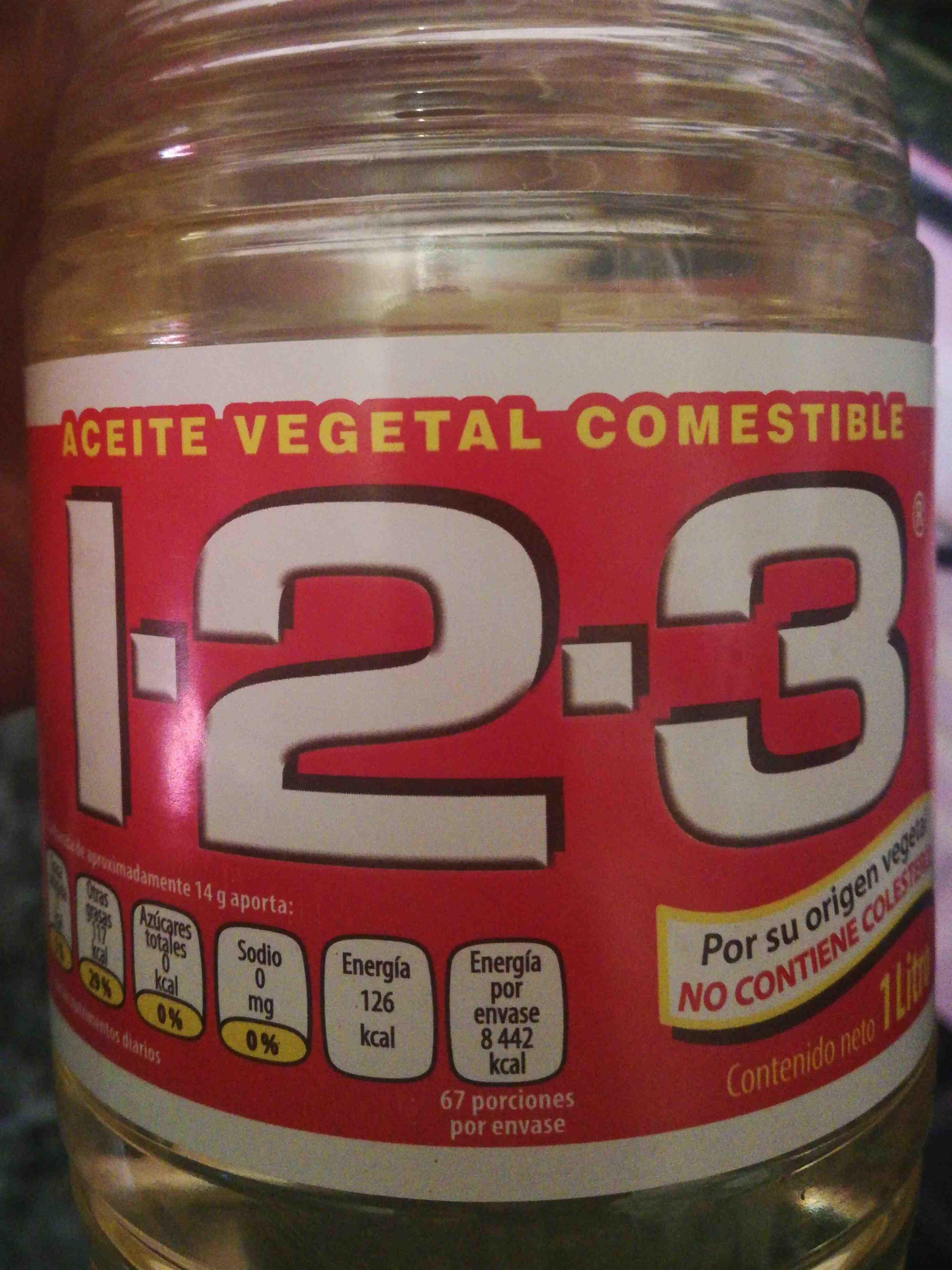 Aceite Vegetal Mixto - Producto - es