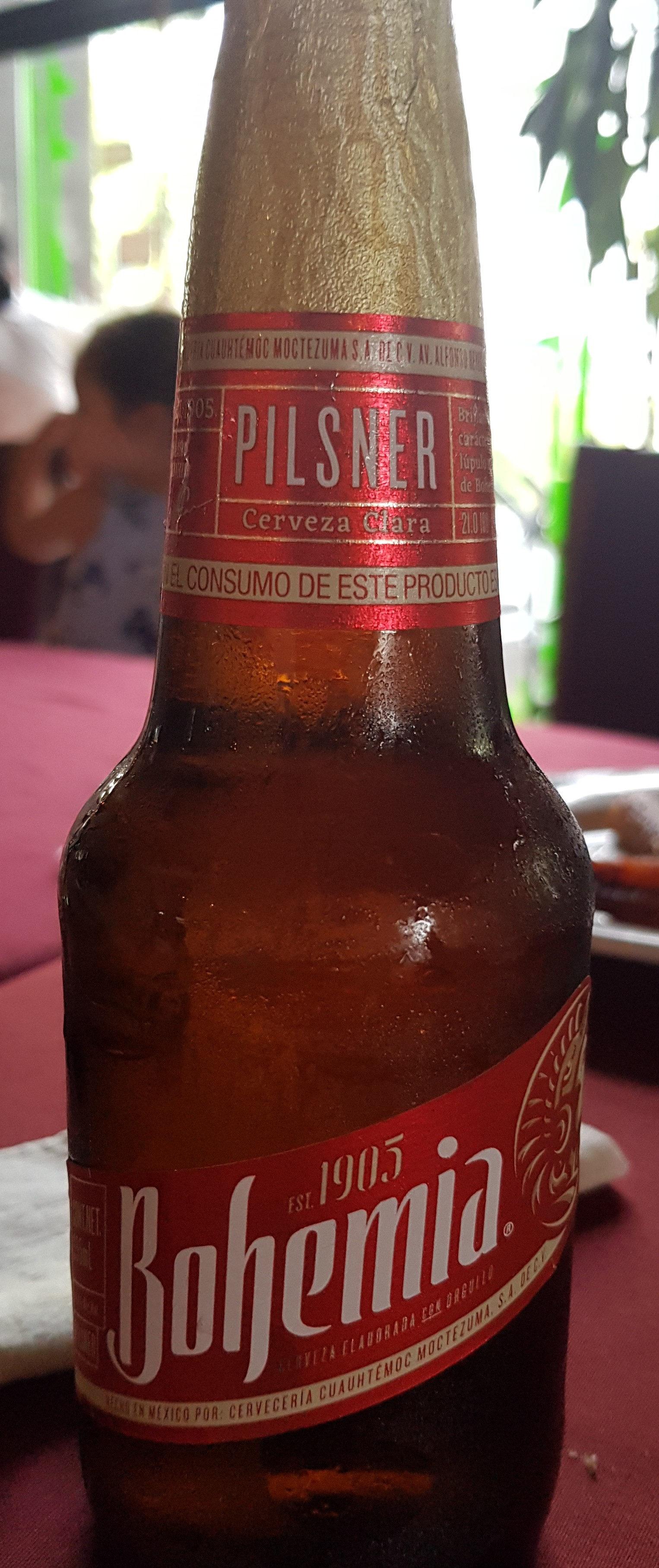 Cerveza Bohemia - Product - es