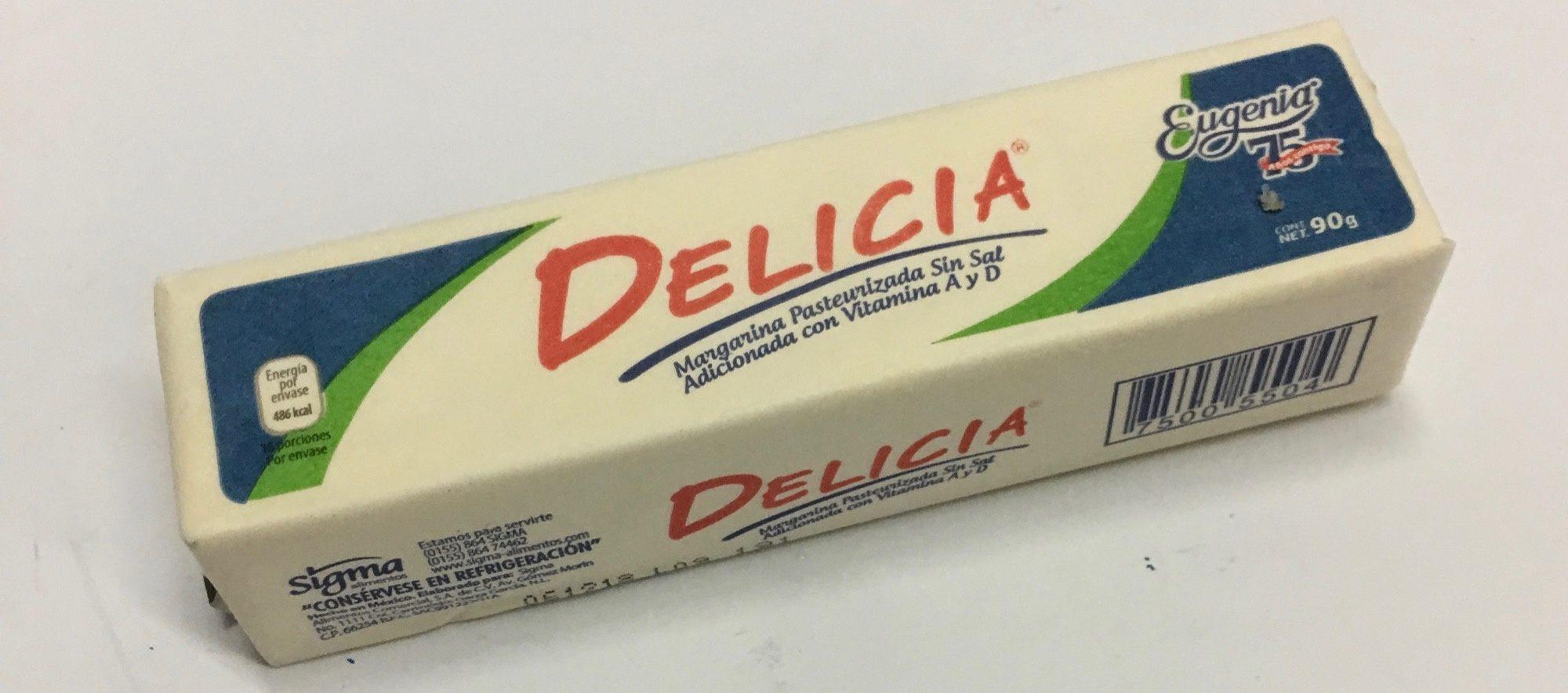 Margarina sin sal Delicia Eugenia - Product - es