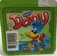Dany Limón Danone - Ingrédients - es