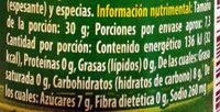 Salsa de tomate Catsup - Voedingswaarden - es