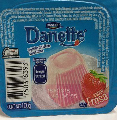 Danette Fresa Danone - Product - es