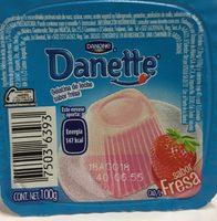 Danette Fresa Danone - Ingrediënten - es