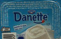 Danette Coco Danone - Nutrition facts