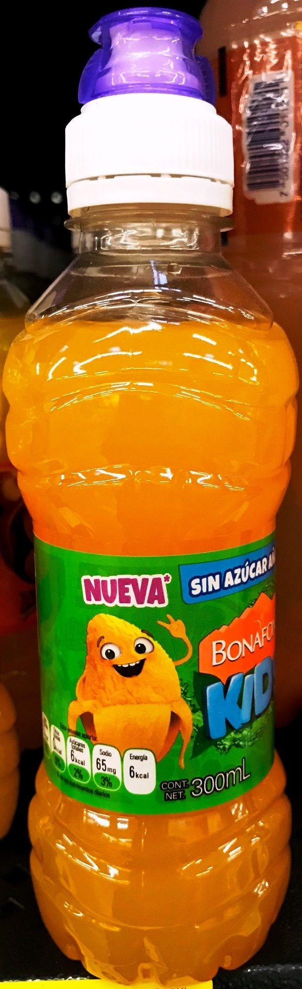 Bonafont Kids Agua Sabor Mango - Produit